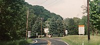 MD 36 at MD 638 west of Mount Savage, MD.jpg
