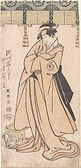 The Actor Segawa Tomisaburo II as the Otomos' Maid Wakakusa, Actually Prince Korehito