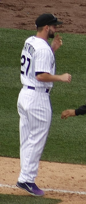 Tyler Chatwood - Chatwood with the Colorado Rockies