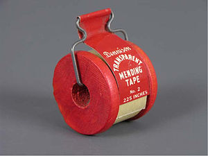 Avery Dennison - Dennison Mending Tape from the second half of the 20th century.