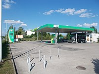 MOL petrol station, 2017 Gárdony.jpg