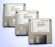 MS-DOS 6.22 floppy disks 20110326.jpg
