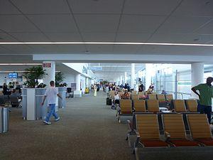 Lynden Pindling International Airport - US departures area