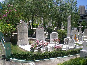 Macau Cemitério S Miguel Arcanjo 3