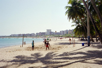Maceio, Alagoas, Brasil. Beach area.