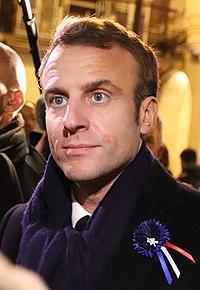 Emmanuel Macron en 2018.
