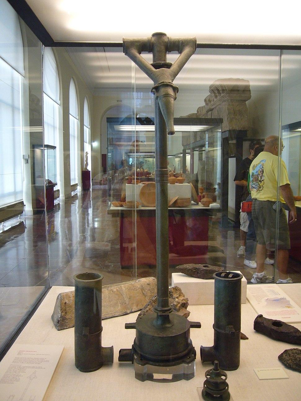 Madrid Arqueologico - pompa idraulica 1030103