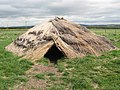 Maelmin - reconstruction of Mesolithic hut - geograph.org.uk - 420786.jpg