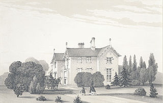 Maenol, Montgomeryshire. The Seat of The late Thomas Evans Esqr