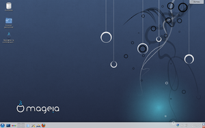 Screenshot of Mageia 3