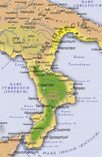 velika grcka mapa Velika Grčka — Vikipedija, slobodna enciklopedija velika grcka mapa