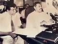 Mahinda Rajapaksa and Sirisena Amarasekara.jpg