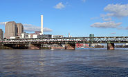 Main Neckar Brücke Frankfurt
