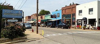 Hardy, Arkansas - Downtown Hardy