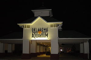 Oklahoma Aquarium - Main entrance