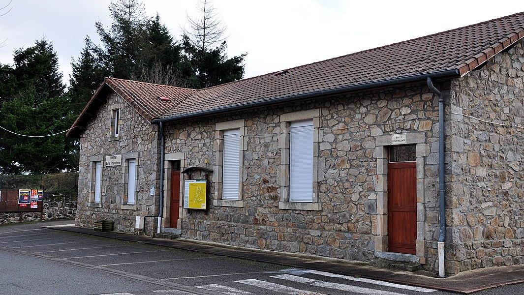 La mairie de Saint-Cierge-sous-le-Cheylard.