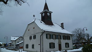 Bretigny-sur-Morrens - Image: Maison de ville de Bretigny sur Morrens