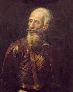 Yannis Makriyannis - Portrait by Spyridon Prosalentis.
