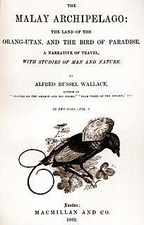 <i>The Malay Archipelago</i> book by Alfred Russel Wallace