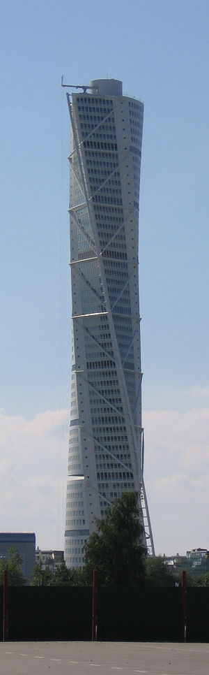 Turning Torso - Turning Torso, the tallest building in Scandinavia