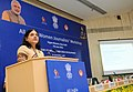 Maneka Sanjay Gandhi addressing at the inauguration of the All India Women Journalists' workshop, jointly organised by the Ministry of Women and Child Development and Press Information Bureau, in New Delhi (1).jpg