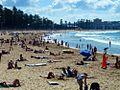 Manly Beach, Sunny Sunday. - panoramio.jpg
