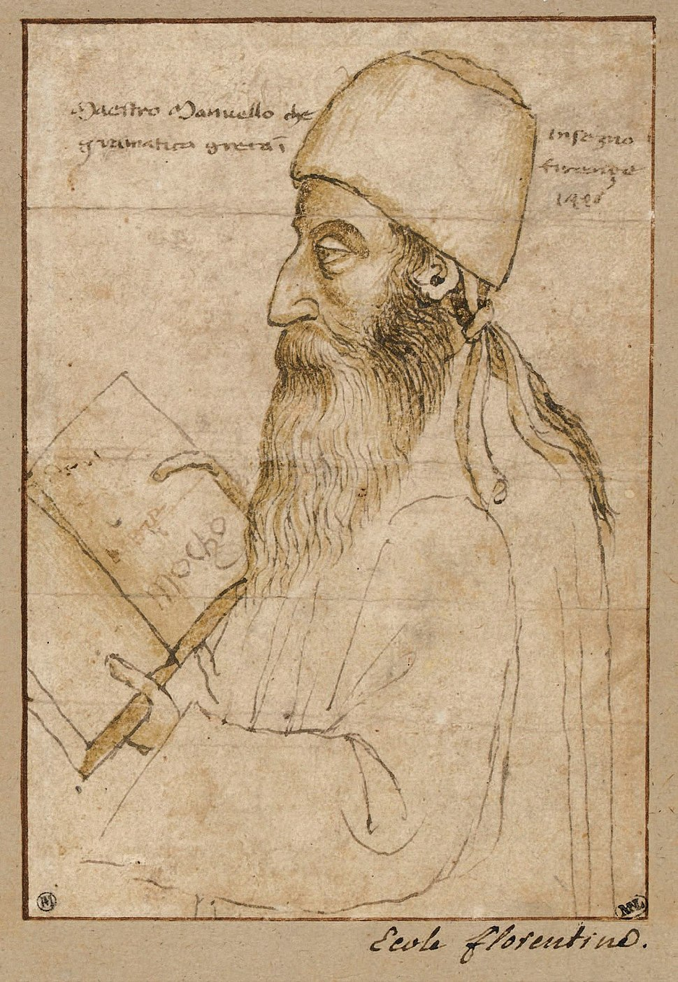 Manuel-chrysoloras-paolo-uccello-louvre-15th