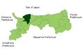 Map Daisen,Tottori en.png