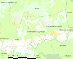 Map commune FR insee code 34273.png