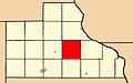 Map highlighting Jackson Township, Jackson County, Iowa.jpg