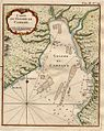 Map of Cambay, Bellin's map of the Gulf of Cambay, a copperplate engraving from 1761.jpg