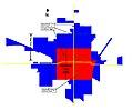 Map of Hartford City IN 1876-2009.jpg