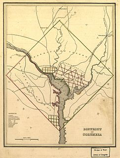 Washington County, D.C. Original political entity within the District of Columbia