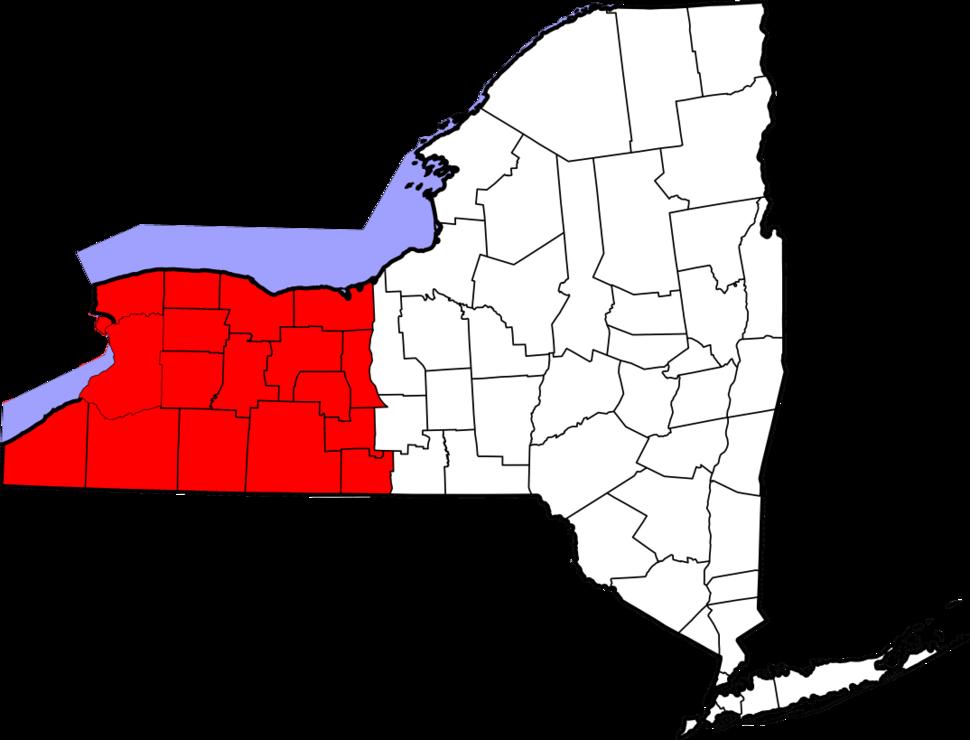 Western New York counties