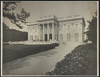 Marble House - Image: Marble House, William K. and Alva Vanderbilt mansion, Newport, Rhode Island) Frank H. Child, photographer LCCN2017648601