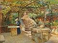 Marie Egner - A flower lover on a sunny terrace.jpg