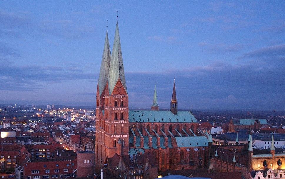 Marienkirche am Abend