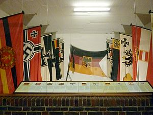 Reichskriegsflagge - German war ensigns, among them those called Reichskriegsflagge
