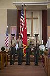 Marines honored during rededication of Miramar chapel 150712-M-HJ625-026.jpg