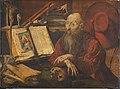 Marinus van reymerswale-san jeronimo en su estudio-viena.jpg