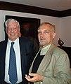 Mario Vargas Llosa si Virgil Mihaiu (Cluj 2013).jpg