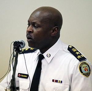 Mark Saunders (police officer) - Saunders in 2015