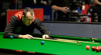 Mark Williams (snooker player) - Mark Williams at the 2015 German Masters