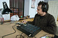 Mark works on an Arduino based sequencer project, kwartzlab TON, 2011-01-18.jpg