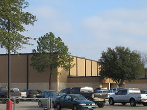 Marshall High School in Marshall, Texas