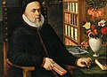 Marten van Valckenborch - Portrait of a scholar, probably Carolus Clusius.jpg