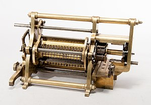 Martin Wiberg - The difference engine invented by Martin Wiberg.