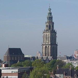 Martinikerk (Groningen) - Image: Martinitoren groningen