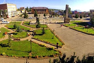 Martuni, Armenia - Image: Martuni central square, Armenia