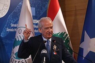 Marwan Hamadeh Lebanese journalist, politician